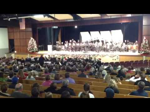 St. Francis Xavier Middle School band sing-a-long 2016