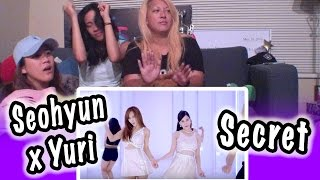 [KPOP REACTION] YURI X SEOHYUN 유리 X 서현 -- SECRET