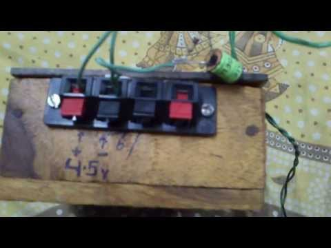 3 Transistor Homemade Musical Door Bell Electonics Lab Project: Easy Circuit!