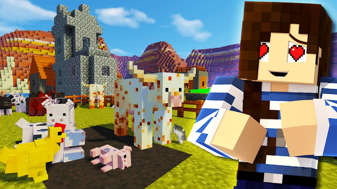 minecraft mod animania mods animals farm mincraft cows 9minecraft cow mc pigs zoo chickens mobs food many things animal hamster