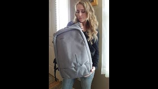Kingsons Backpack,Anti-Theft Laptop Backpack with USB Charging Port