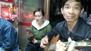 Vung La Me Bay Guitar Cover Ca si Thai Thanh trinh bay