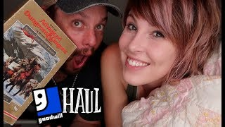 Nerd vs Vintage... Our Goodwill BINS Haul   How much can we make reselling?
