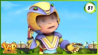 Vir: The Robot Boy | Vir Ki Punishment | Action cartoons for Kids | 3D cartoons