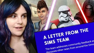 The Sims Team's INFURIATING Response to Backlash (Journey to Batuu)
