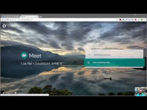 Google Meet - Set Up And Join