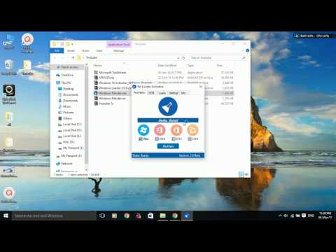 How to Activate all windows OS's 7,8,8.1,10, Microsoft office-2010-16(2017) [files and clear audio]