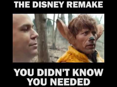 Disney Bambi Classic Remake with The Rock