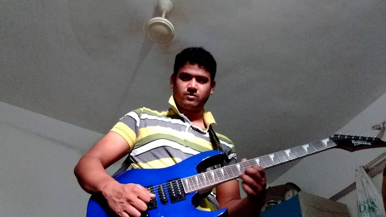 Dheere Dheere Se Meri Zindagi Mein Aana Aashique Guitar Solo