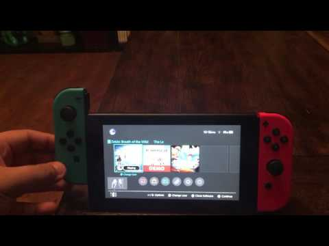 Nintendo Switch: Joy-Con connecting and disconnecting sound effects