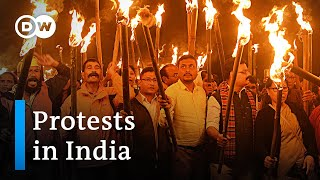 India's new citizenship law sparks protests | DW News