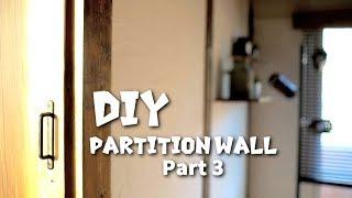[DIY]賃貸でもできる間仕切り壁を作ってみた #3 Make a partition wall thumbnail