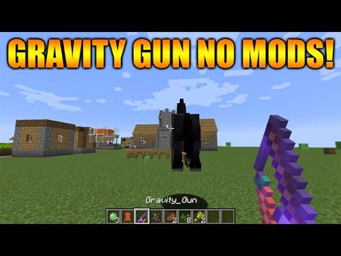 Gravity gun in minecraft no mods minecraft vanilla gravity gun youtube premium freerunsca Images