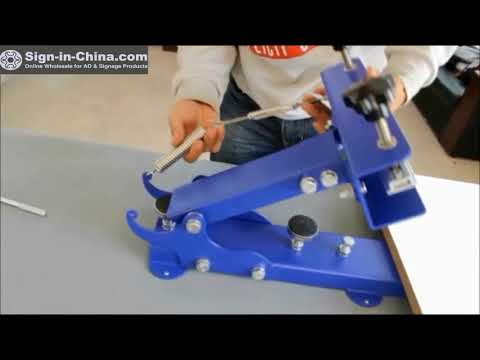 The Installation Video Of The Manual Screen Printing Equipment