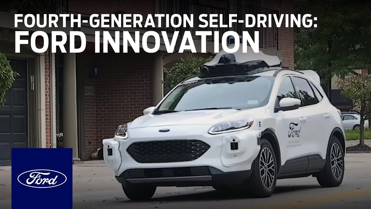 A Fourth-Generation Self-Driving Test Vehicle from Ford and Argo AI | Innovation | Ford