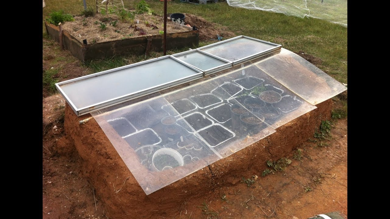 Cob Cold Frame / Mini Greenhouse from Free and Recycled Materials ...