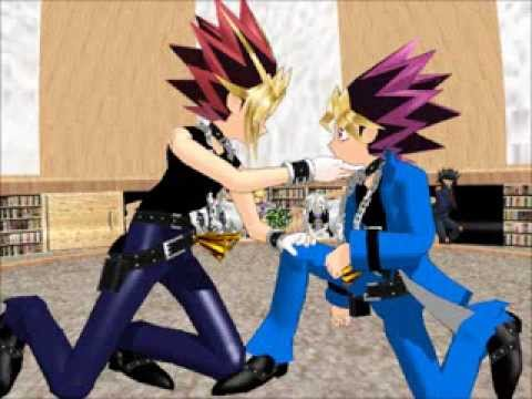 {MMD} Yu-Gi-Oh Karaoke Episode 13 Yami and Yugi Shoujo Misui