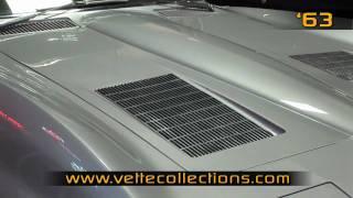 1963 Silver Chevrolet Corvette