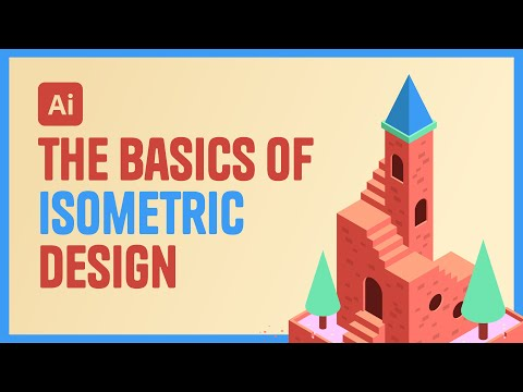 Illustrator Tutorial - The Basics of Isometric Design thumbnail