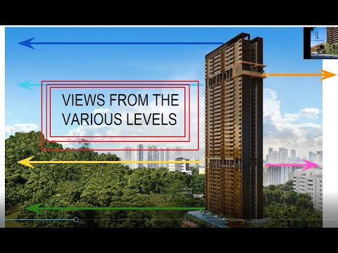 Views from the various levels of The Landmark