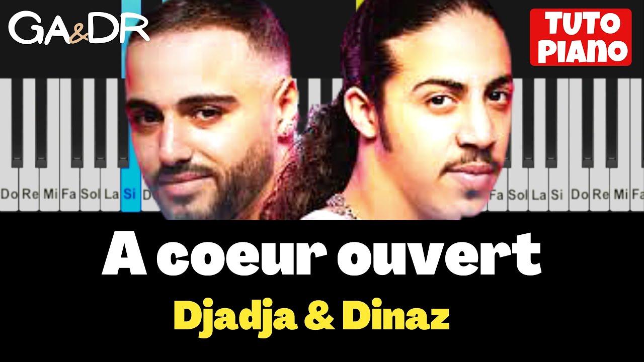 DjaDja & Dinaz - À Cœur Ouvert (PIANO COVER TUTORIAL) [ Ga&Dr Piano ] -  YouTubeYouTube