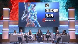 Gears 5 | E32019 Coliseum Panel Interview - Rod Fergusson and Cast of Gears of War 5
