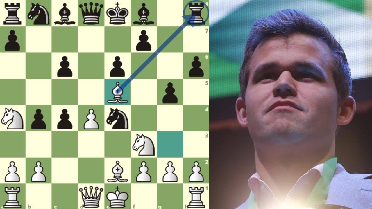 ENTREGA 2 PEONES POR INICIATIVA: Carlsen vs Ding Liren (Chess Tour Finals, Semifinal, 2020)