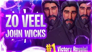 ALLEEN MAAR JOHN WICKS!? THE REAPER SKIN! (Fortnite: Battle Royale - Nederlands PS4)
