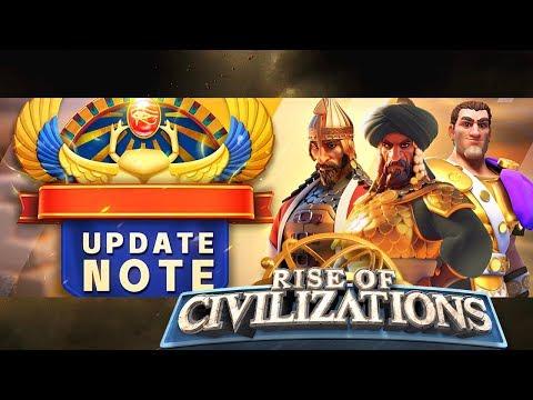 UPDATE REVIEW - 3 Civilizations - 6 Commanders - Ark of Osiris - Rise of Civilizations