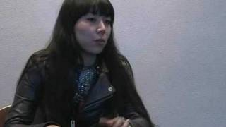 CUEAFS interviews director Momoko Ando at the premiere of her debut...