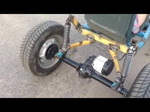 видео: Строим электро багги. Задняя подвеска.