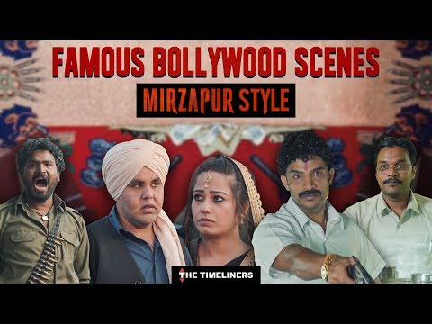 Famous Bollywood Scenes: Mirzapur Style   The Timeliners