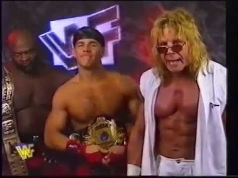 Ultimate Warrior/Shawn Michaels/Ahmed Johnson Promo (06-29 ...