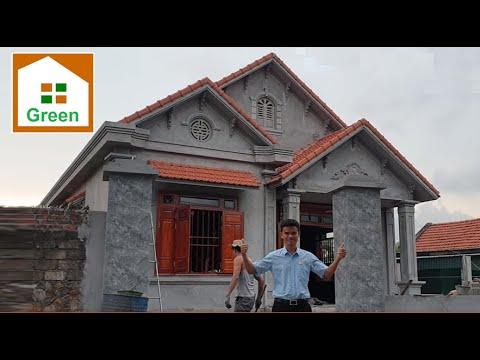 Nhà Đẹp | Mẫu Nhà Cấp 4 Đẹp Có 4 Phòng Ngủ 9M X 16 M Tại Đông Triều – Quảng Ninh