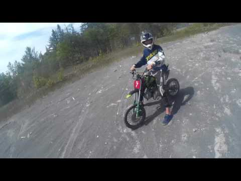 Ride to & at Hudson Bay mine tailings and back home. With Ryan!!