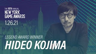 Interview - Hideo Kojima receiving the New York Game Awards Legend Award- インタビュー 〜小島秀夫監督New York Game AwardsでLegend賞を授与〜 ...