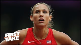 Lolo Jones shares her frustration with the IOC delaying postponing the 2020 Olympics | First Take