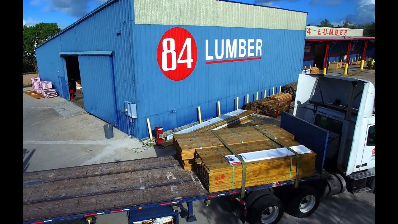 84 Lumber Store Spotlights