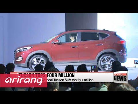 Global sales of Hyundai Tucson SUV top four million