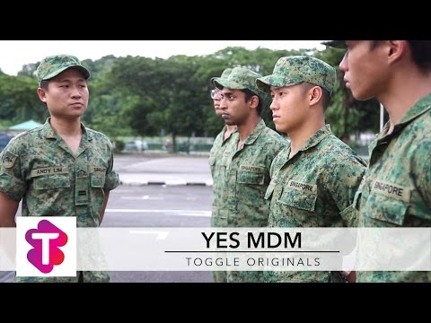 5 Types of Army Officers (Yes Mdm 我的军官女友)