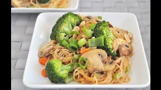 Peanut Noodle Stir Fry (vegan And Gluten Free)