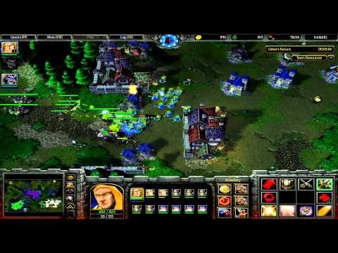 CHEAT (PC) Warcraft III - Campaign 2 - Human: The Scourge of Lordaeron