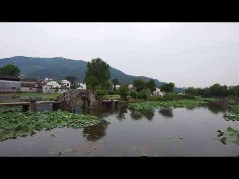 Beautiful Chengkan Town in Anhui Province