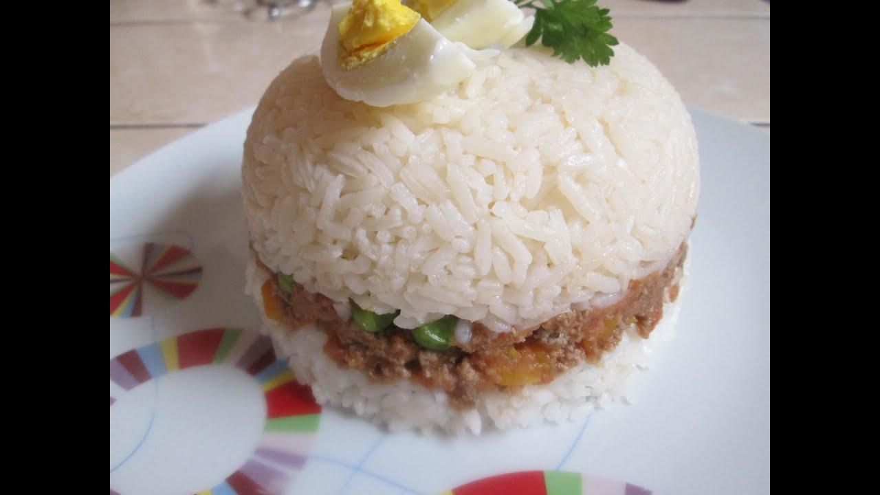 RECETA: Arroz Tapado (comida peruana) - YouTube