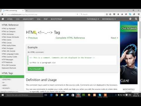 how to use w3schools.com