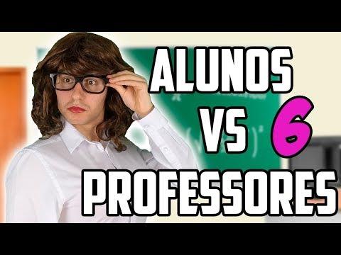 ALUNOS VS PROFESSORES 6