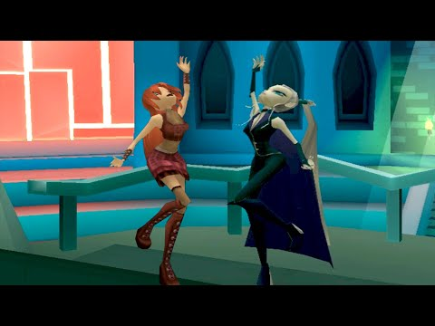 Изучаем анимации Айси в игре Winx Club! А также немного играем за восхитительную ведьму льда!