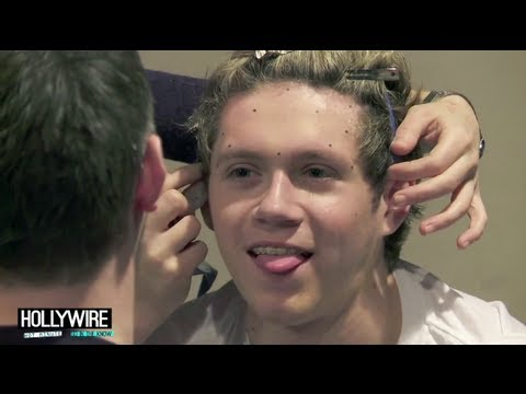 One Direction Gets Waxed! -- Behind The Scenes Video