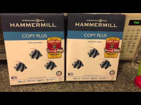 Staples 1cent paper to print coupons!!!  Rebate and coupons haul