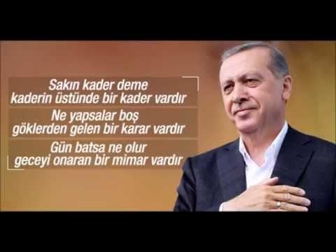 Recep Tayip Erdoğan Ey Sevgili HÜLYA Fon Müziği